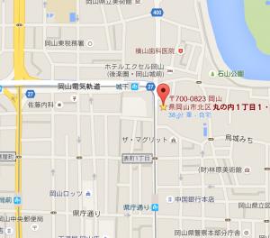 禁酒会館地図